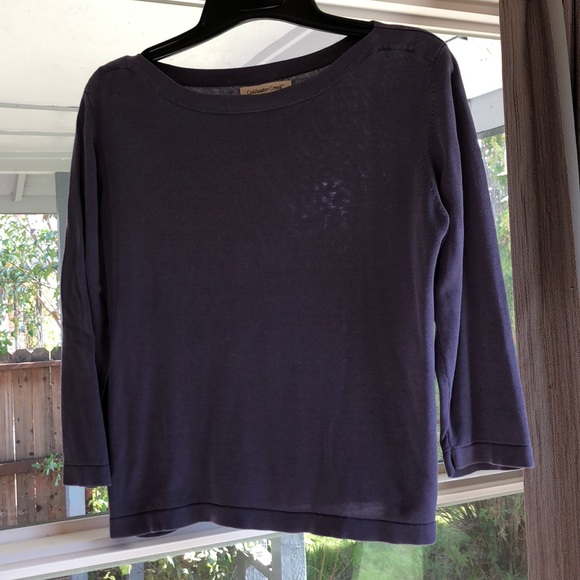50% off Coldwater Creek Sweaters - Coldwater Creek Silk Blend ...